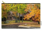 House Surrounded With Colors Carry-all Pouch