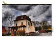 House With Storm Approaching Carry-all Pouch