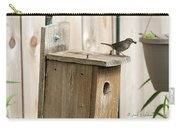 House Wren Feeding Time Carry-all Pouch