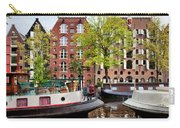 Houseboats And Houses On Brouwersgracht Canal In Amsterdam Carry-all Pouch