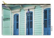 Houses Along A Street, French Quarter Carry-all Pouch