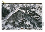 Houses In A Village In Winter, Tasch Carry-all Pouch
