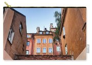 Houses In The Old Town Of Warsaw Carry-all Pouch