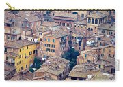Houses Of Old City Of Siena - Tuscany - Italy - Europe Carry-all Pouch