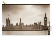Houses Of Parliament And Elizabeth Tower In London Carry-all Pouch