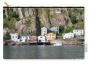 Houses With Expressive Brushstrokes Carry-all Pouch