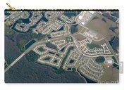 Housing Development Near Wetland Carry-all Pouch