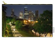 Houston At Night Carry-all Pouch