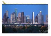 Houston Night Skyline Carry-all Pouch