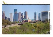 Houston Skyline And Buffalo Bayou Carry-all Pouch