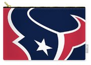 Houston Texans Carry-all Pouch by Tony Rubino