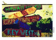 How Far Is It To Key West Carry-all Pouch