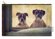 How Much Is That Doggie In The Window? Carry-all Pouch by Stephanie McDowell