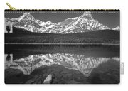 1m3643-bw-howse Peak Mt. Chephren Reflect-bw Carry-all Pouch