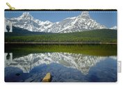 1m3643-howse Peak, Mt. Chephren Reflect Carry-all Pouch