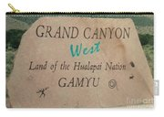 Hualapai Nation Signpost Carry-all Pouch