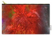 Hubble Galaxy With Red Maple Foliage Carry-all Pouch