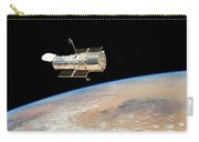 Hubble  Telescope  In  Orbit  Above  Earth Carry-all Pouch
