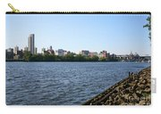 Hudson River And Albany Skyline Carry-all Pouch