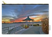 Hudson River Fiery Sky Carry-all Pouch