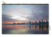Hudson River Sunrise Nyc Carry-all Pouch