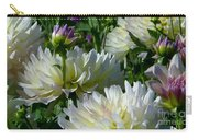Hues Of Softness Dahlia Carry-all Pouch