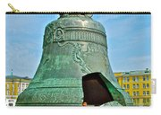 Huge Bell That Cracked In A Pit Inside Kremlin Walls In Moscow-r Carry-all Pouch