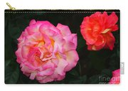 Huge Pink And White Rose...   # Carry-all Pouch