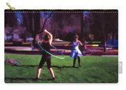 Hula Digital Art By Cathy Anderson Carry-all Pouch
