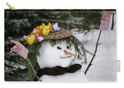 Hula Snowlady Carry-all Pouch