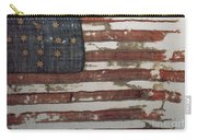 Hulbert Flag Early Us Flag 1776 Carry-all Pouch by Photo Researchers