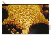 Human Cell Infected With Mycoplasma Carry-all Pouch by David M. Phillips