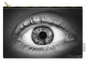 Human Eye Carry-all Pouch by Elena Elisseeva