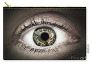 Human Eye Macro Carry-all Pouch
