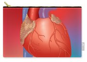 Human Heart Carry-all Pouch