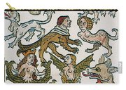 Human Monsters 1493 Carry-all Pouch by Photo Researchers