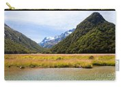 Humboldt Mountains Seen From Routeburn Track Nz Carry-all Pouch