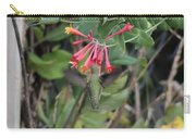 Humming Bird At Honey Suckle Vine Carry-all Pouch
