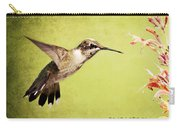 Humming Bird In Flight Carry-all Pouch