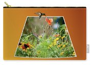 Humming Bird Out Of Bounds Carry-all Pouch