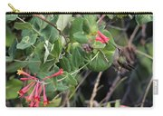 Humming Bird Perching On Vine Carry-all Pouch