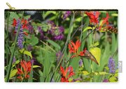 Hummingbird And Crocosmia Lucifer Carry-all Pouch
