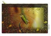 Hummingbird At The Pond Carry-all Pouch