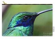 Hummingbird Closeup Carry-all Pouch