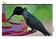 Hummingbird Costa's At The Feeder Carry-all Pouch