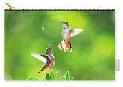 Hummingbird Dance  Carry-all Pouch