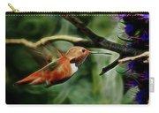 Hummingbird Dreams Digital Art Carry-all Pouch