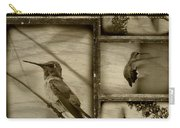 Hummingbird Family Portraits Carry-all Pouch