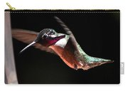 Hummingbird Male Costa's Decending  Carry-all Pouch