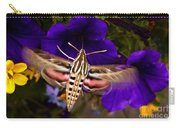 Hummingbird Moth   #8612 Carry-all Pouch